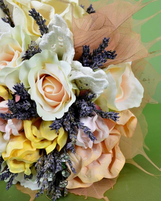Buchet Mireasa Flori Artificiale Magnolia Blog