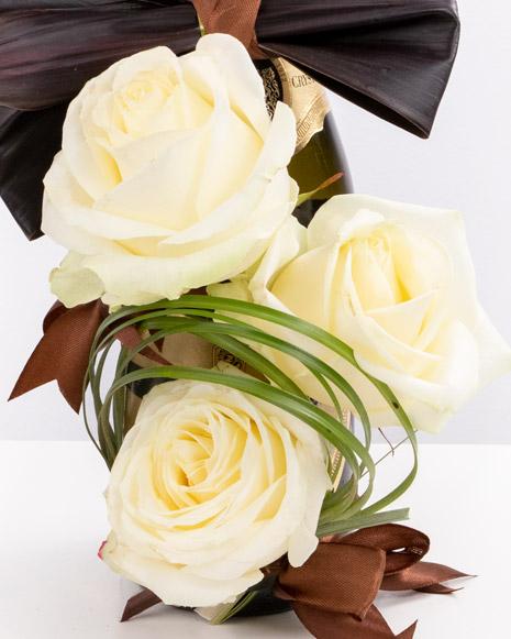 Aranjament floral cu papion