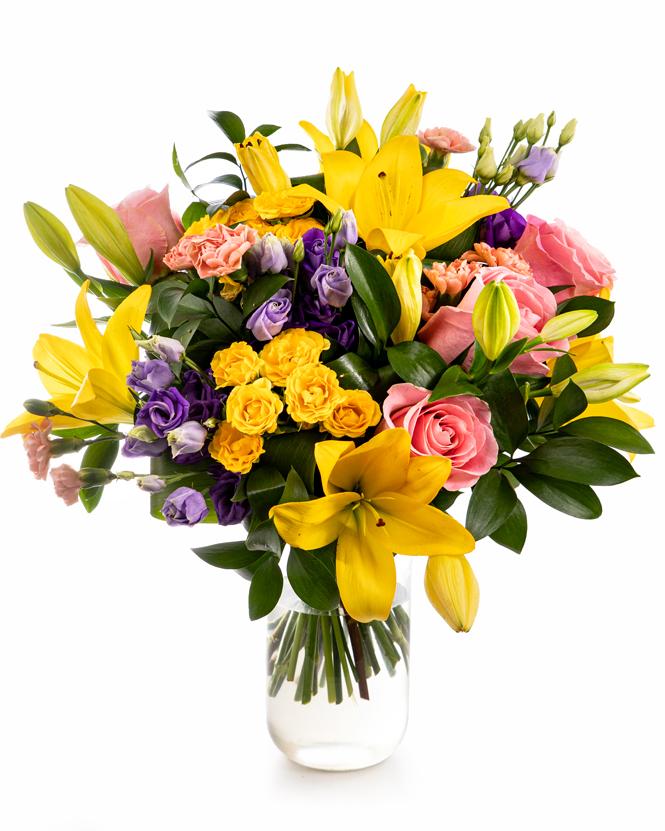 Bouquet pastel mix
