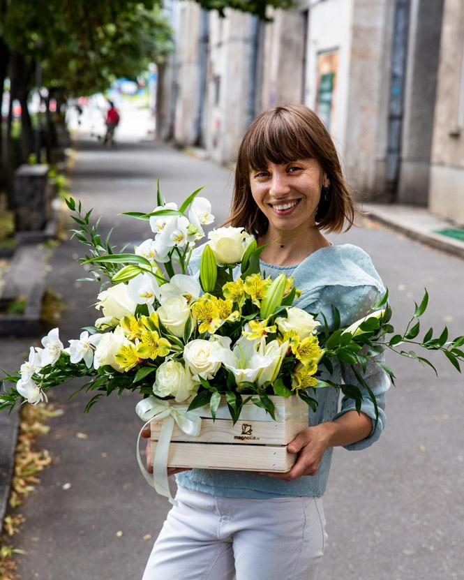 Aranjament floral elegant
