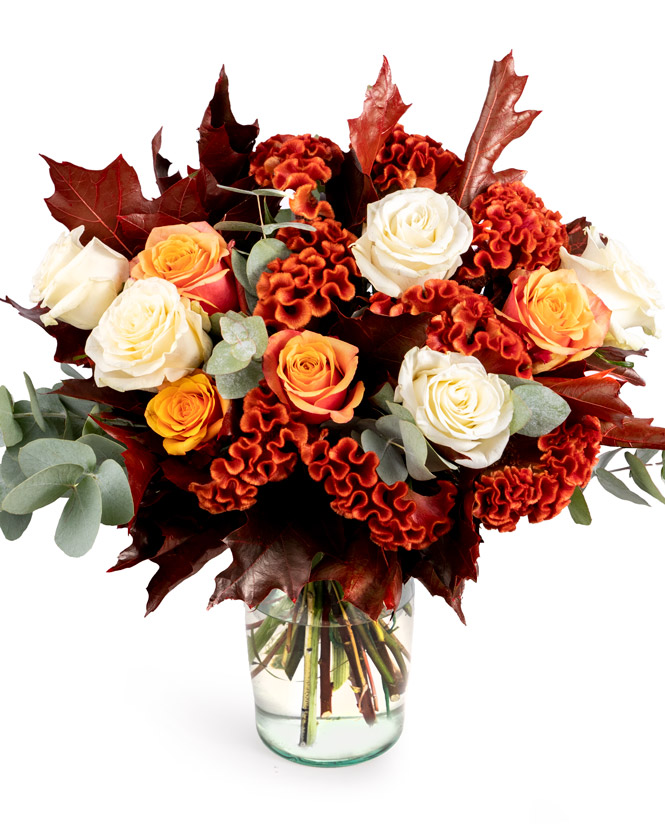 Rose autumn bouquet