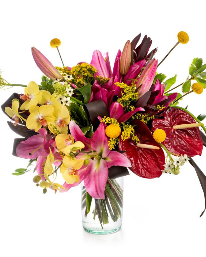 """""""Exotic Delight"""" bouquet"""