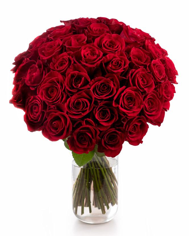 "Buchet cu trandafiri ""Glamour"""