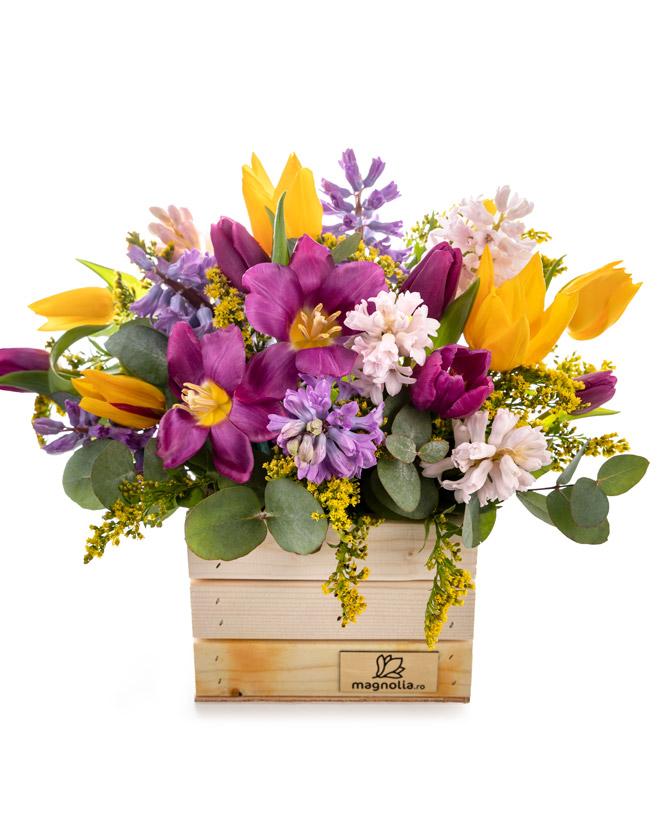 """""""Happy Spring"""" arrangement"""