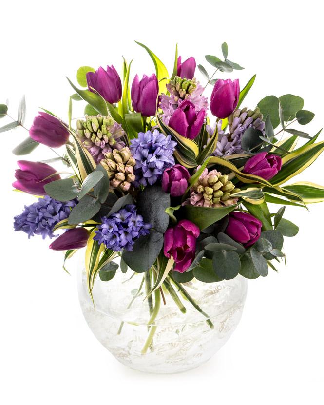 Purple Joy Bouquet