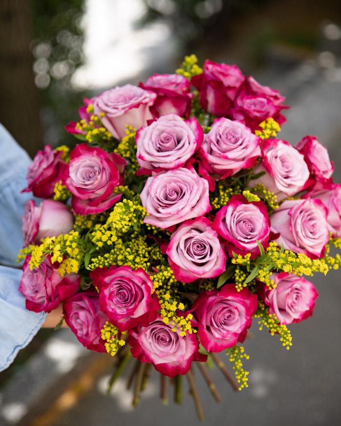 Deep Purple bouquet