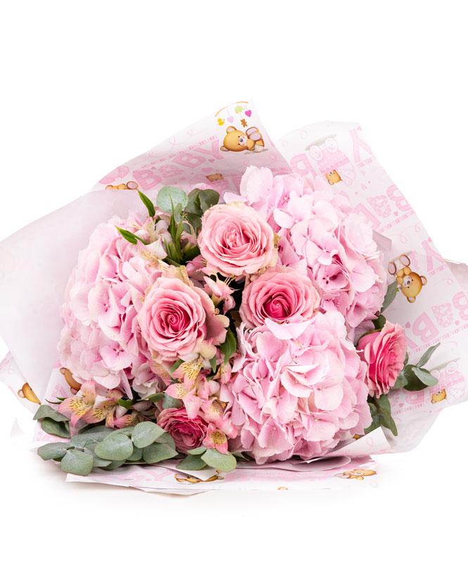 Sweet Baby Girl bouquet
