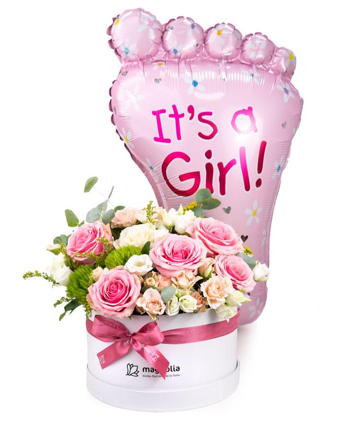 It's a Girl arrangement