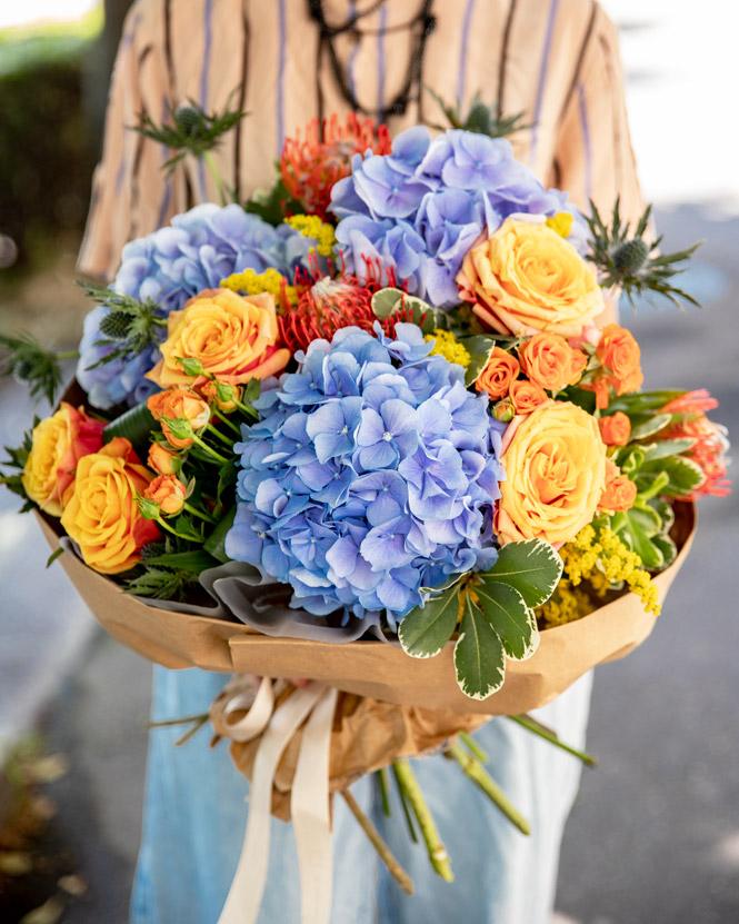 Luxuriant bouquet