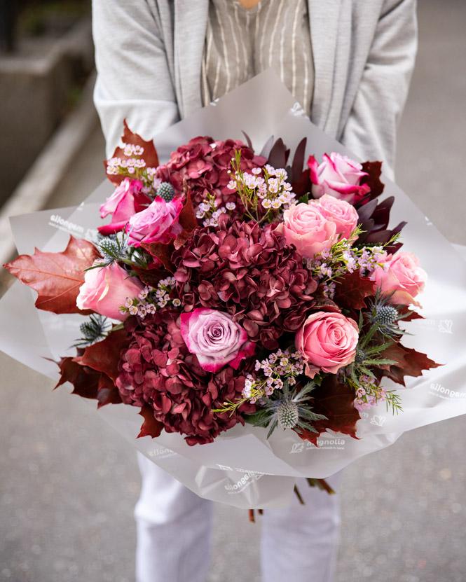 Burgundy Delight bouquet