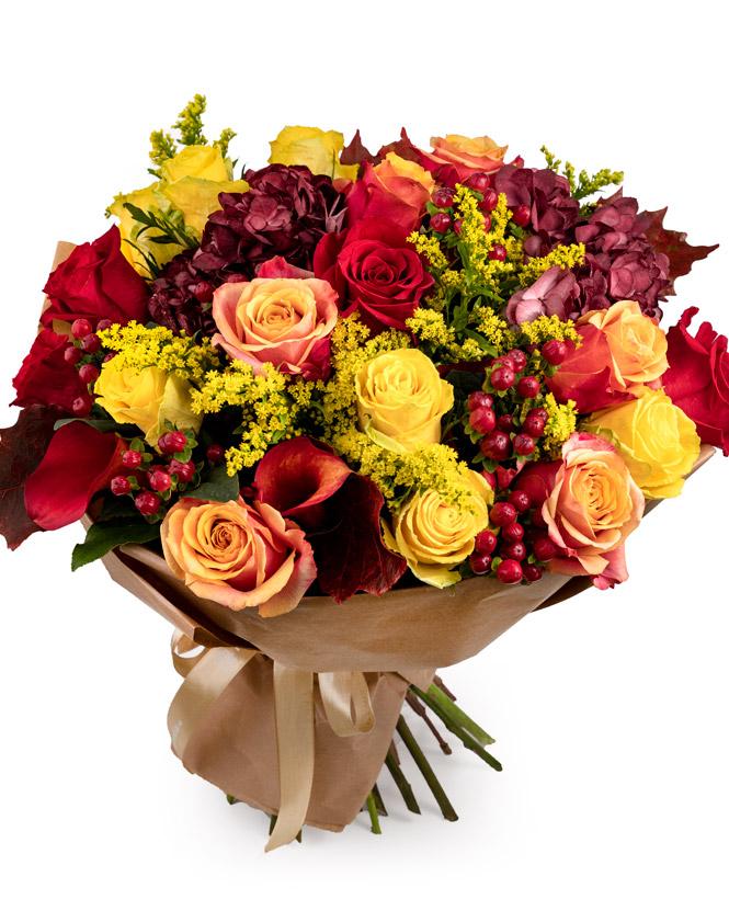 Wild beauty bouquet