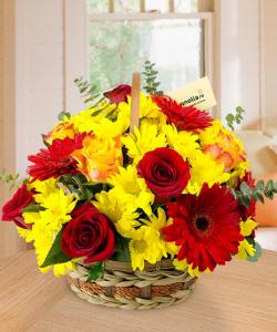 Aranjamente cu flori clasice