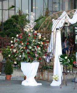 Aranjamente florale nuntă - sală, mese și outdoor (1)
