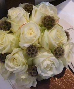 Buchete de mireasă şi aranjamente florale - Nuntă la Palat și Expo Transilvania