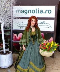 Flori oferite de prinţesa Magnolia în Bucureşti