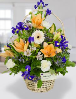 Coşuleţ colorat cu flori asortate