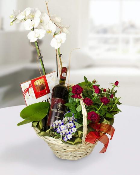 Aranjamente florale de sărbătoare in cos