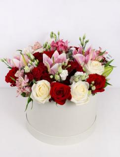 Aranjament floral pentru doamne
