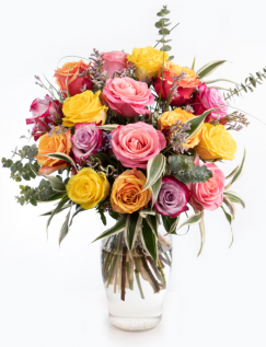Bouquet with roses mix