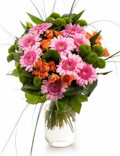 Buchet mix din flori colorate