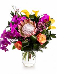 Buchet exotic cu flori rezistente
